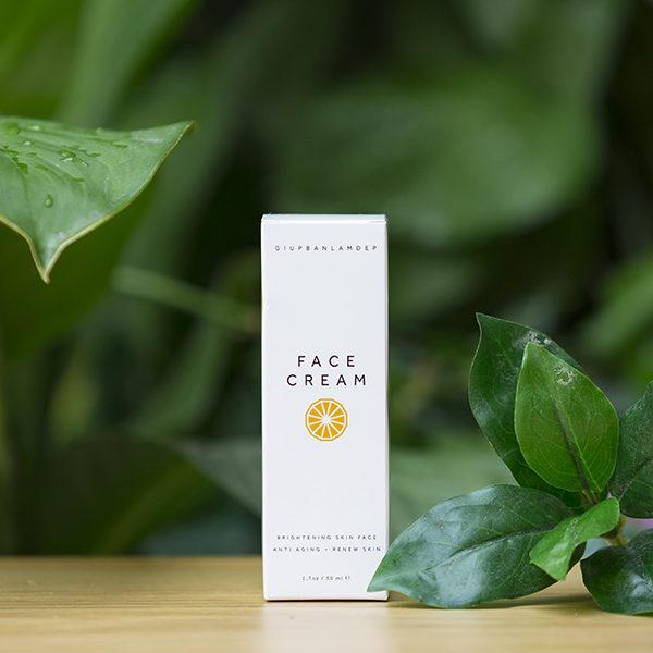 Kem dưỡng trắng da mặt Face Cream