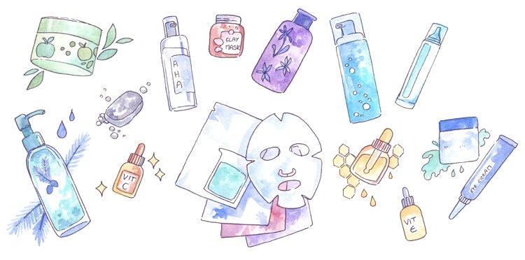 Tài liệu hướng dẫn các bước chăm sóc da cơ bản.